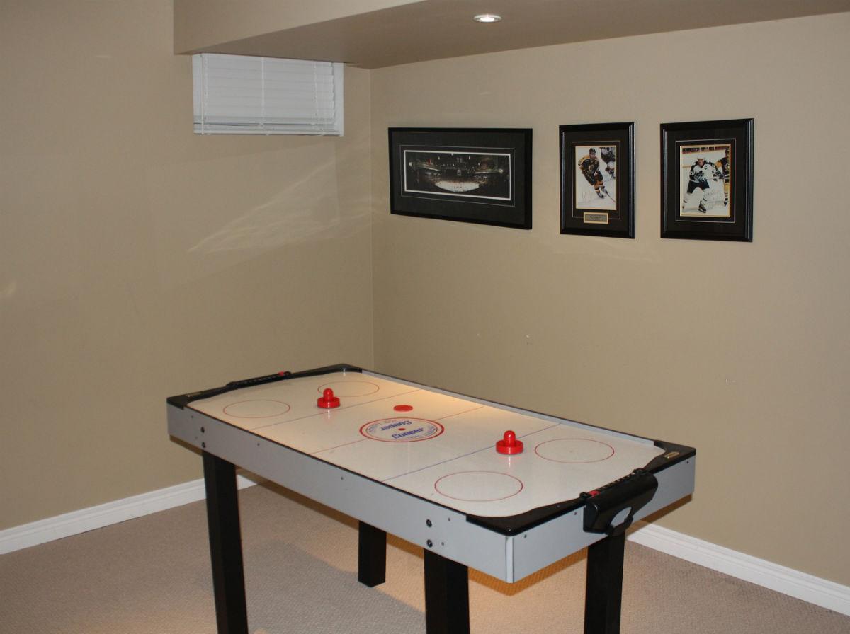 Basement Games Room