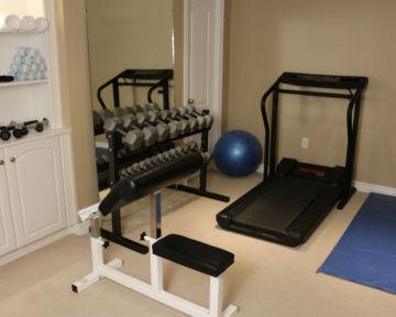 Basement Workout Gym