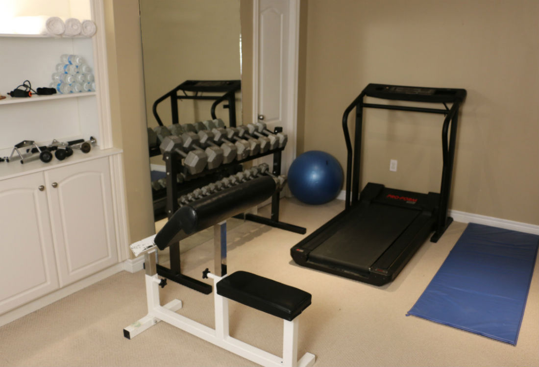 Basement Workout Gym