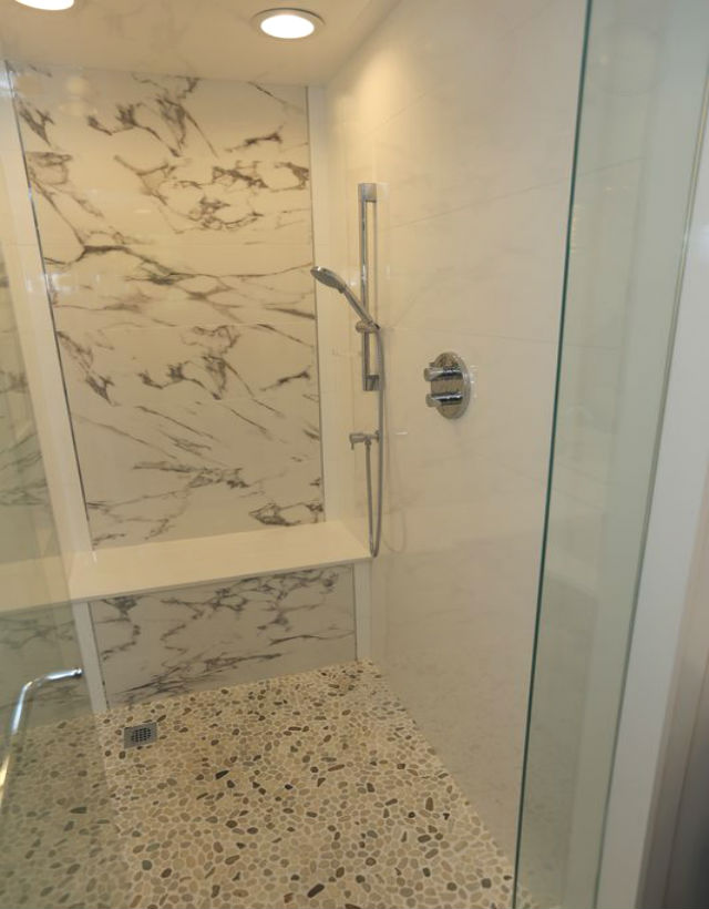 Bathroom Shower Marble