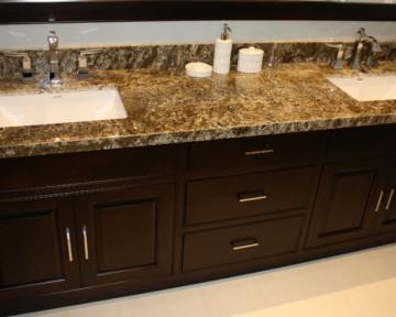 Double Sink Bathroom Renovation