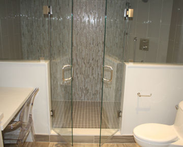 Shower Double Glass Doors