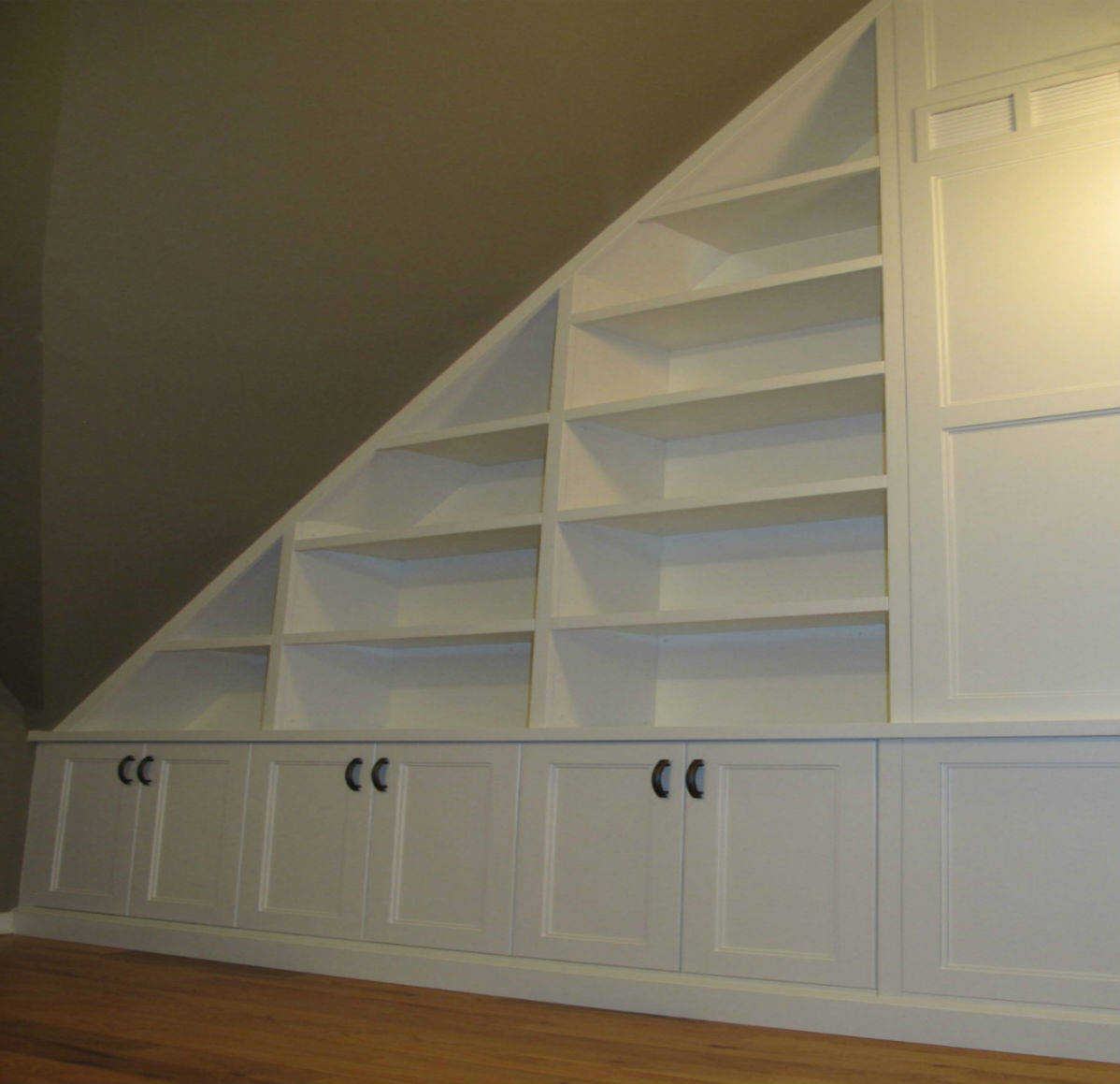 Built-in Book Shelving