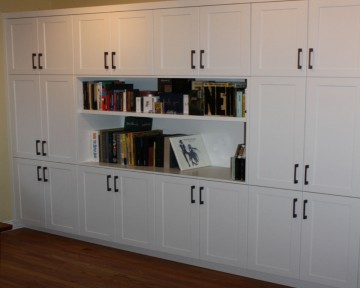 Built-in Wall Unit Shelving