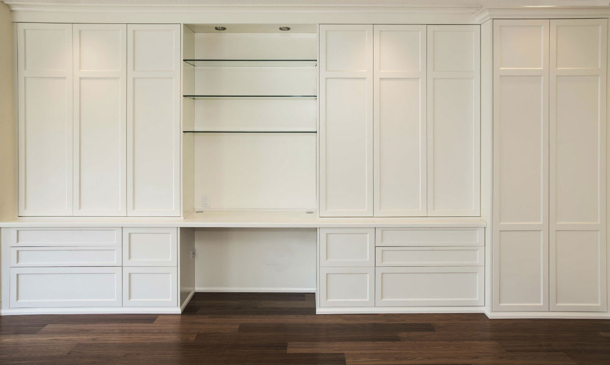 Toronto bathroom built in wall unit kitchen cabinets for Built in wall units
