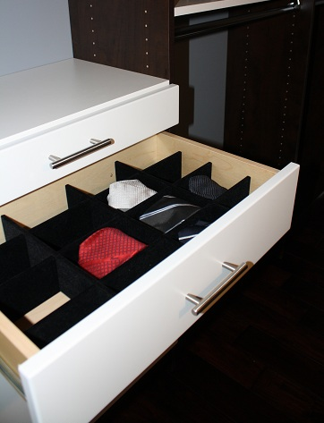Extended Tie Box Drawer