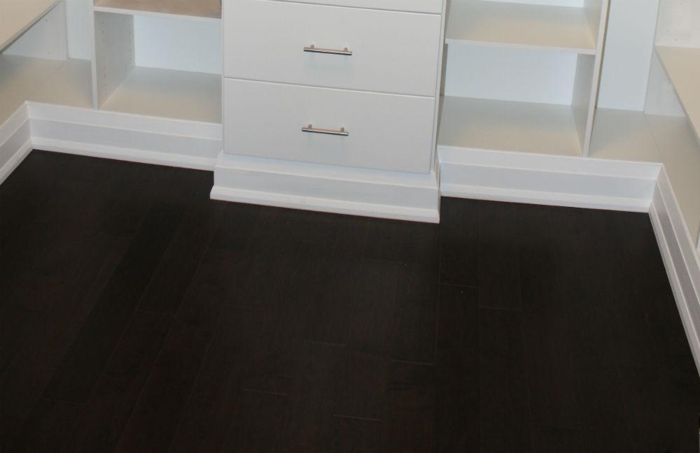 Closet Finishing Hardwood Flooring