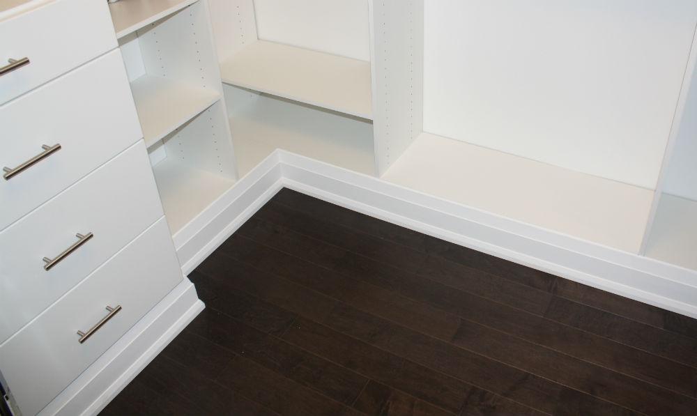 Closet Furniture Base Finish