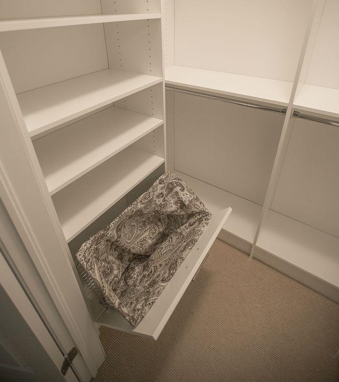Closet White Hamper