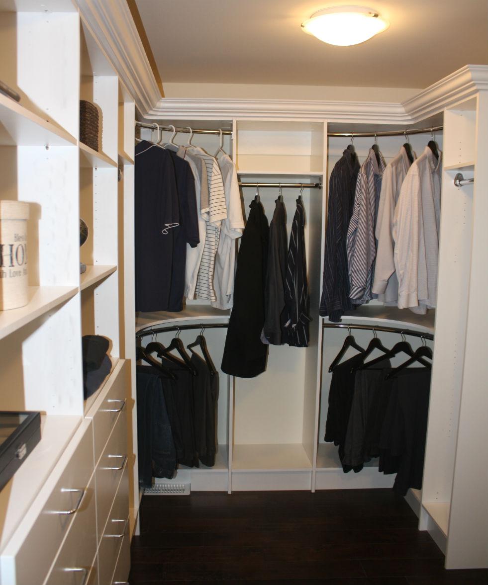 Closet Rounded Corners