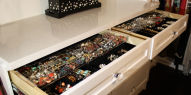 Closet Jewellery Drawers