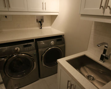 Condo Laundry Room Renovation