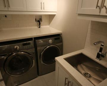 Condo Laundry Room Renovation