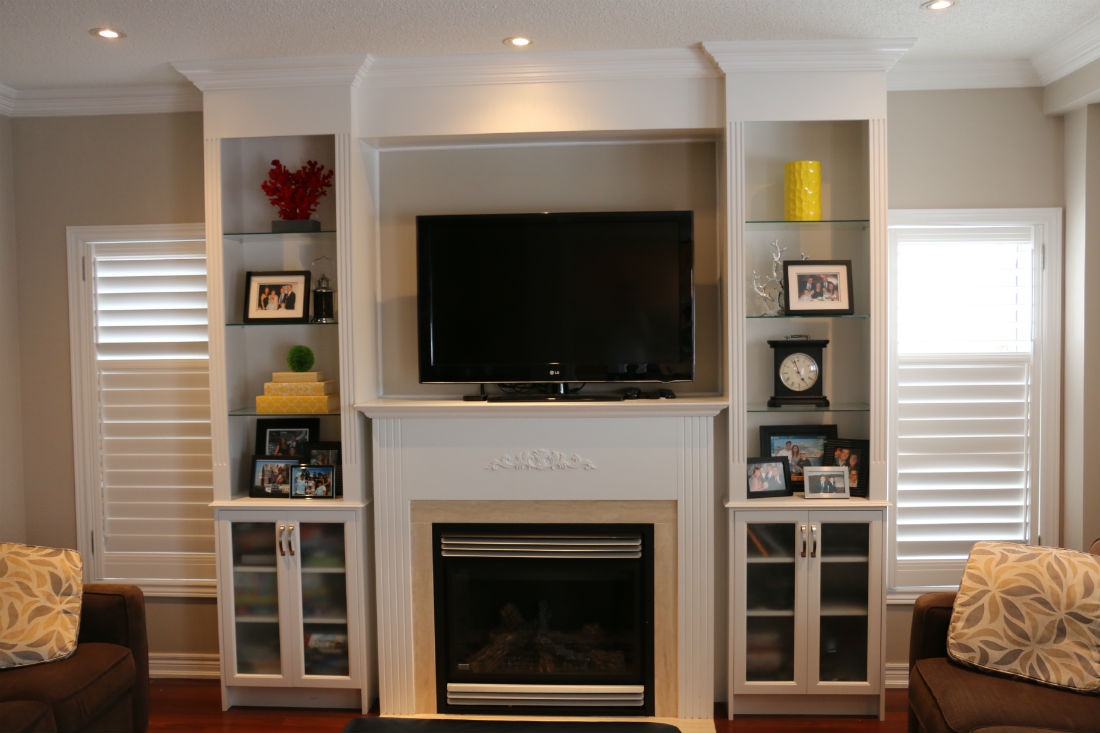 Oakville Wall Units | Toronto Custom Concepts - Kitchens ...