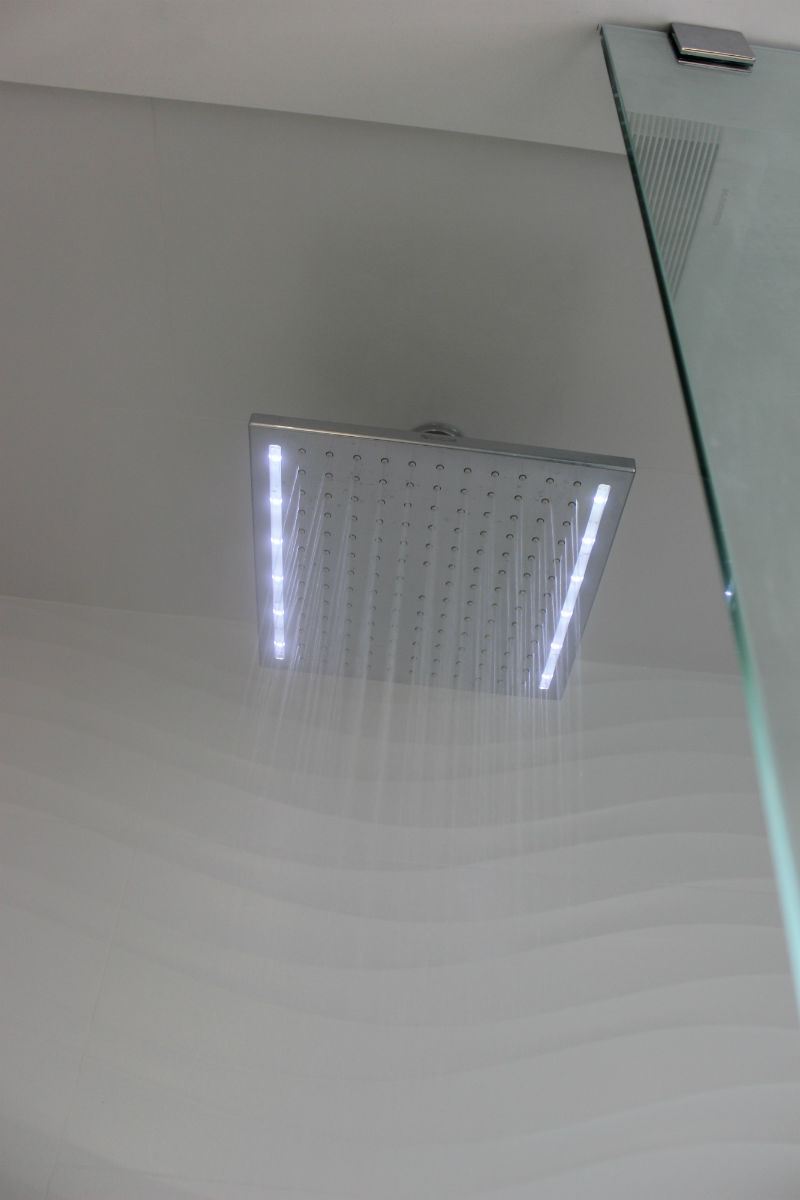 Square LED Showerhead