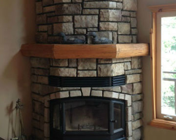 Stone Fireplace Cottage