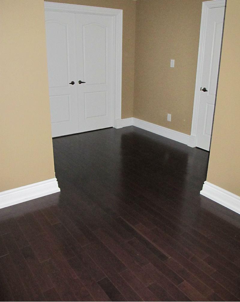 Upstairs Hardwood Flooring