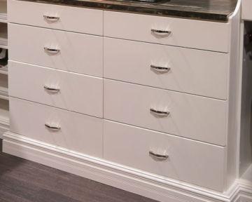 Eight Drawer Furniture Hutch