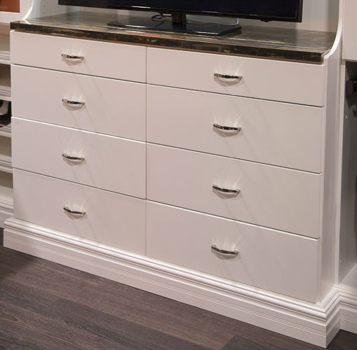 Eight Drawer Furniture Hutch
