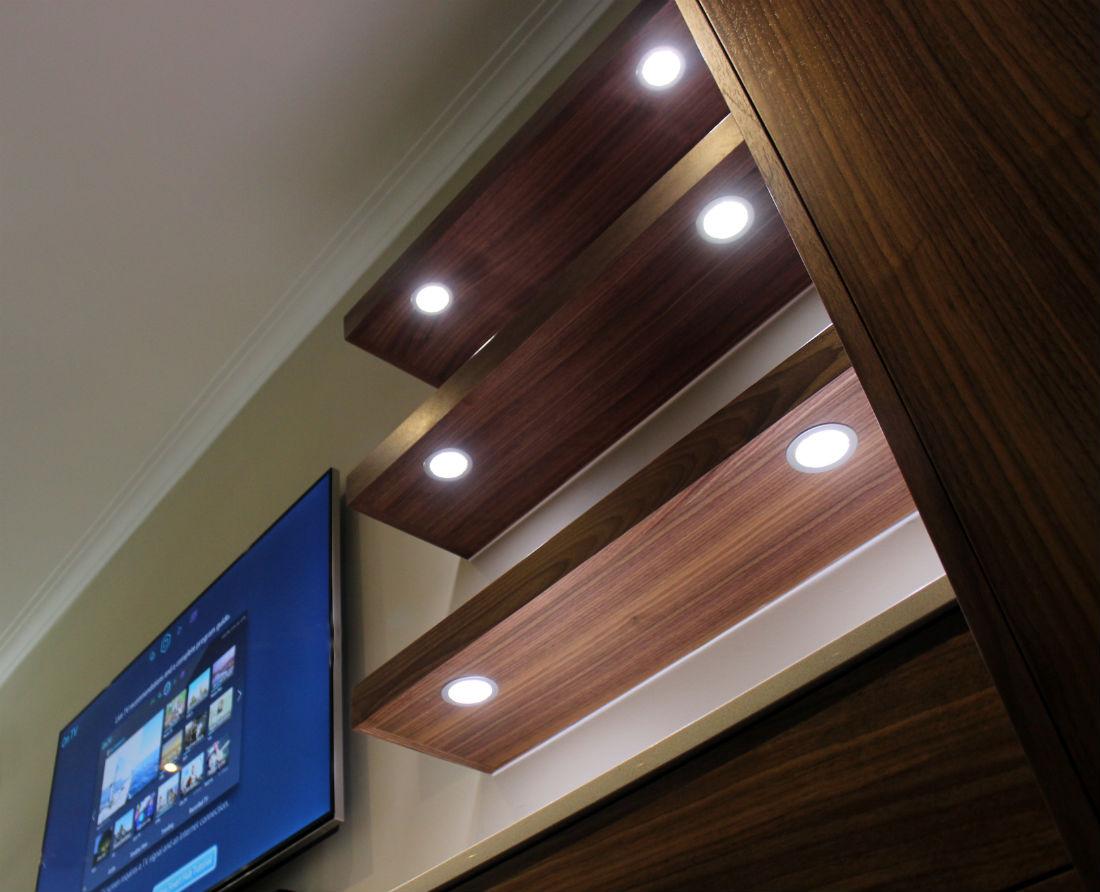 Modern Shelf Lighting