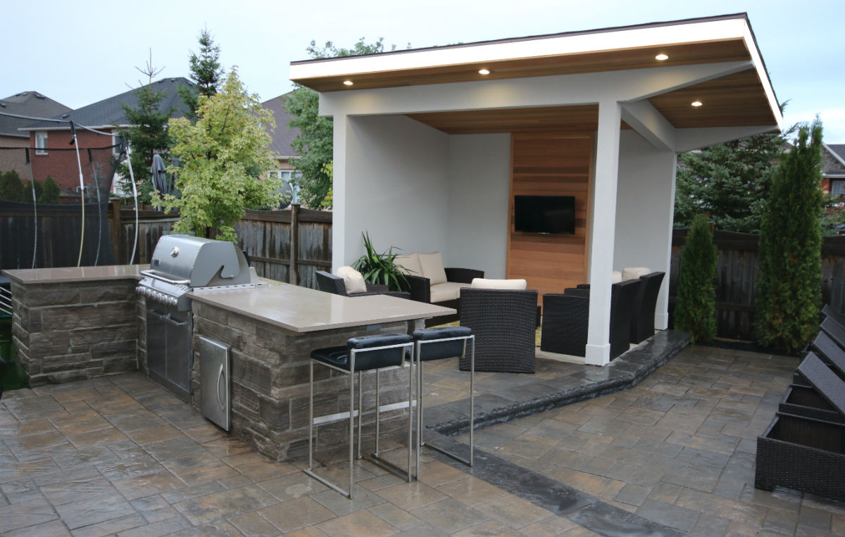 Contemporary cabana take it outside 9 fresh outdoor living spaces - New Posts