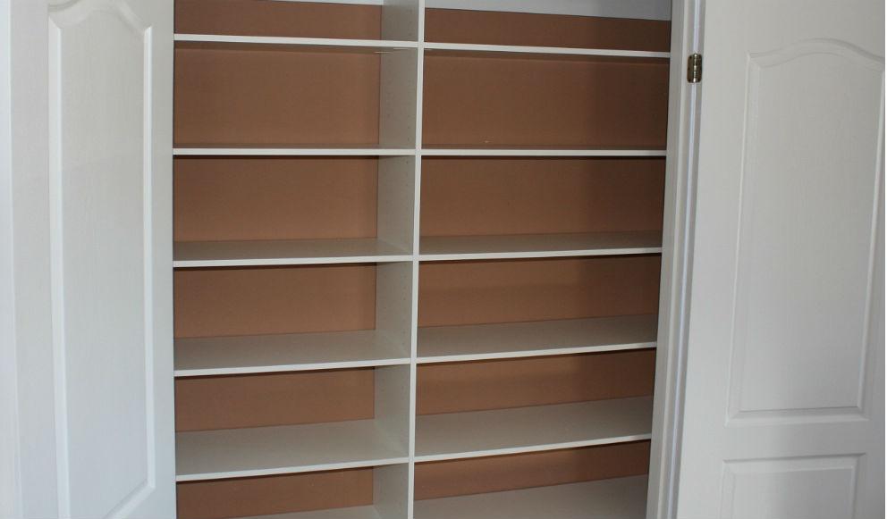 Reachin Closet Shelving