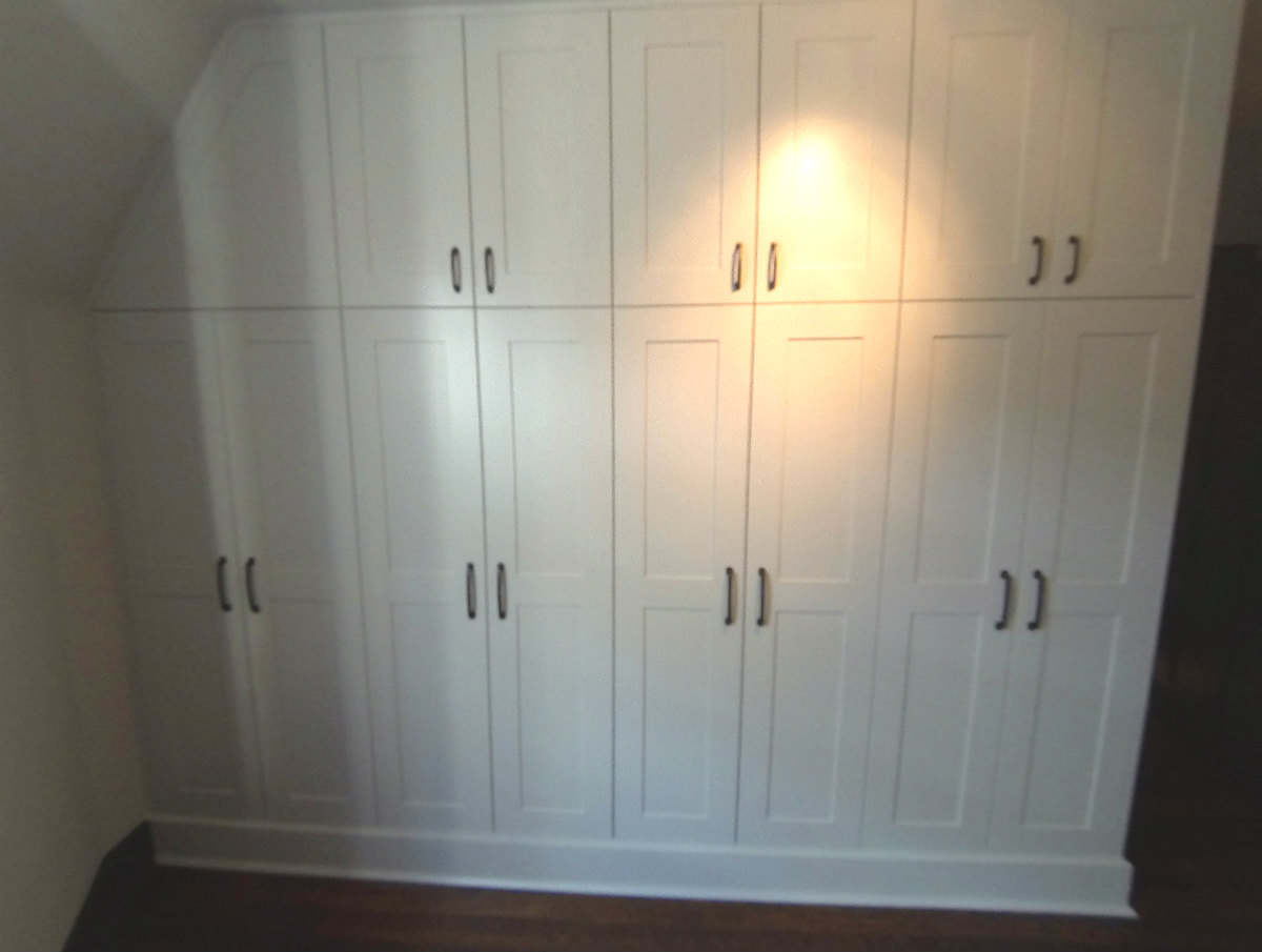Builtin Storage Cabinetry