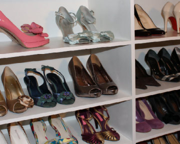 Shoe Closet Shelves