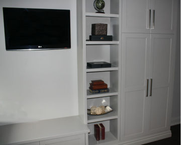 TV Rec Room Shelving