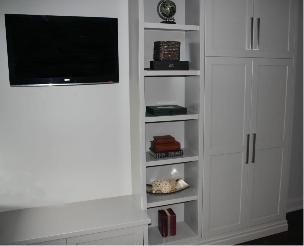 TV Rec Room Shelving