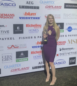 Toronto Custom Concepts Brittany Oakley NKBA Award