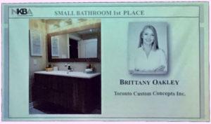 Toronto Custom Concepts Designer Brittany Oakley NKBA
