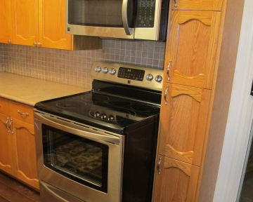 Traditional Kitchen Oak Cabinets