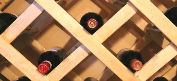 Wood Wine Cellar Rack