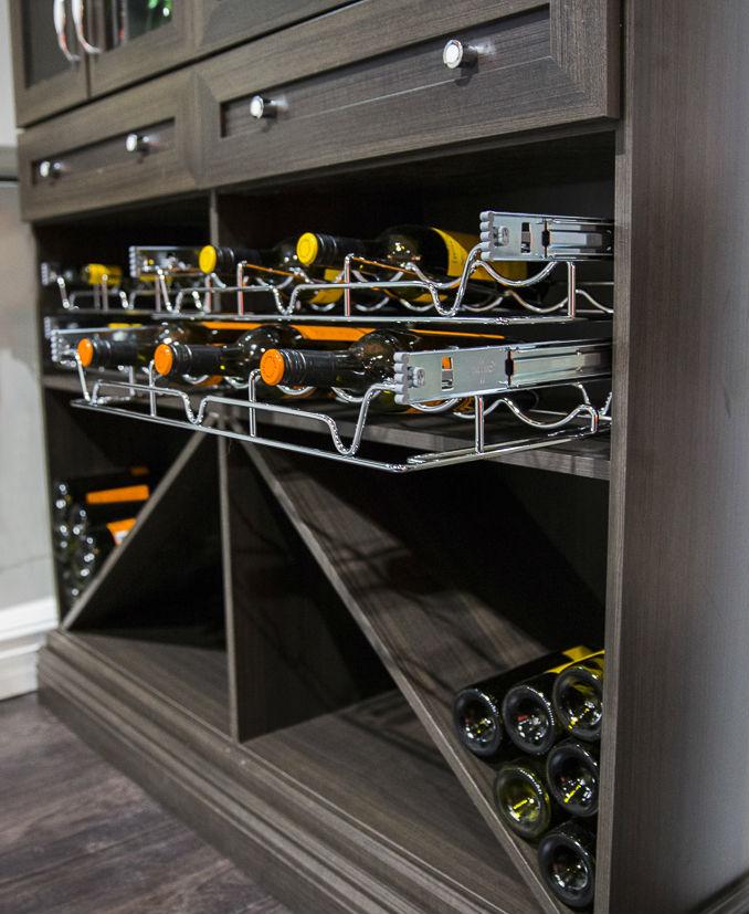 Wine Display Bottles