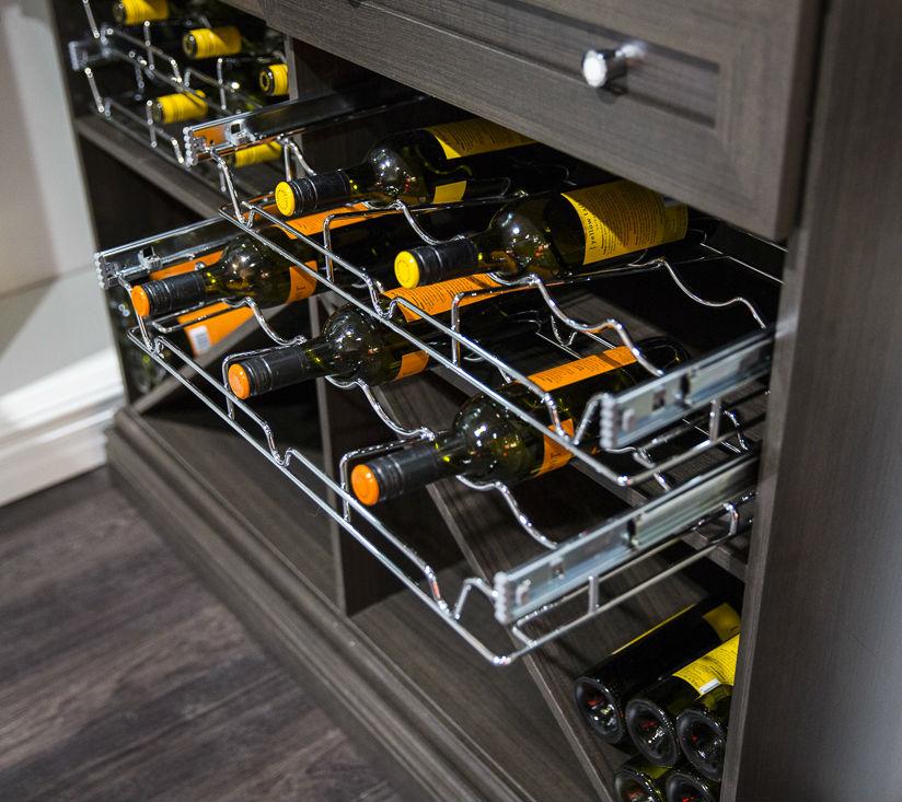 Extendible Wine Racks