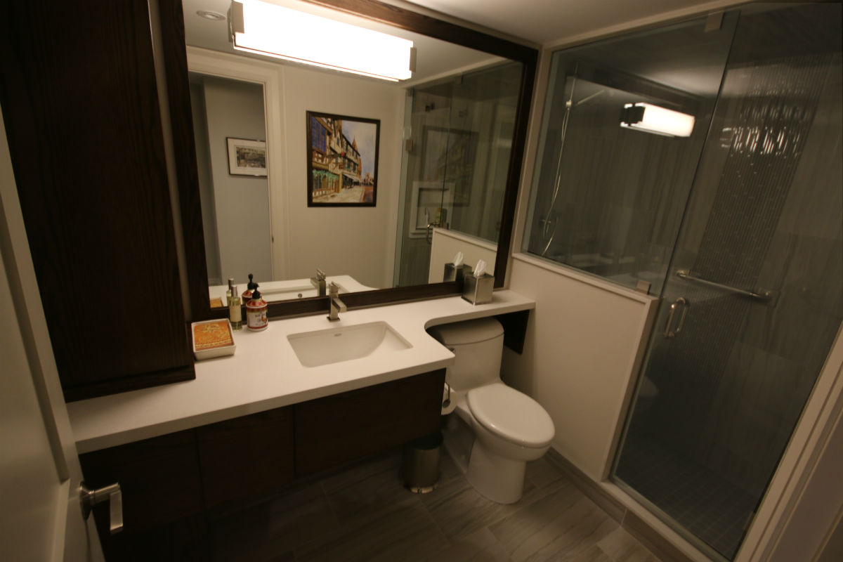 Toronto Condo Bathroom Vanity | Toronto Custom Concepts ...