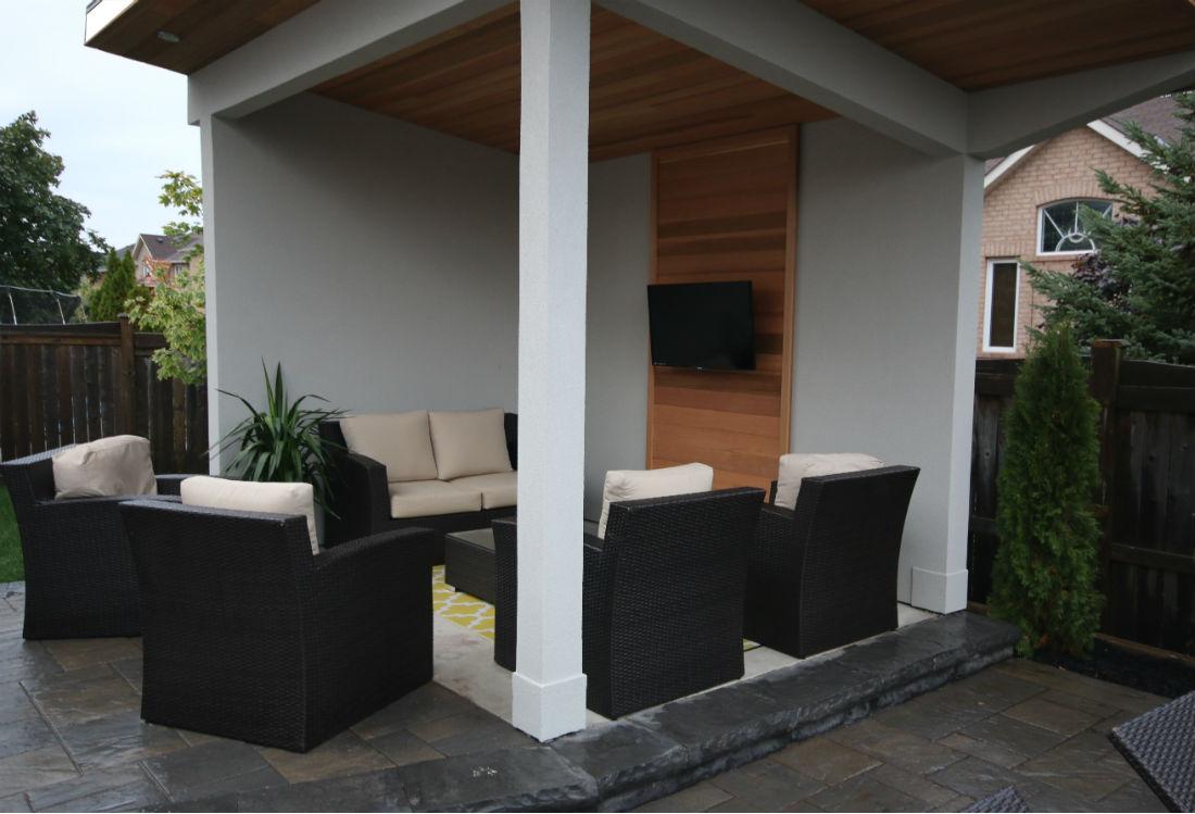 Custom Cabana TV