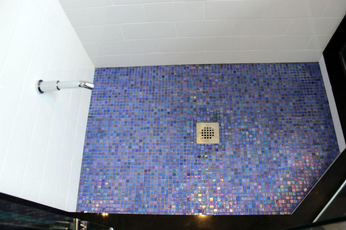 Shower Mosaic Glass Tiles