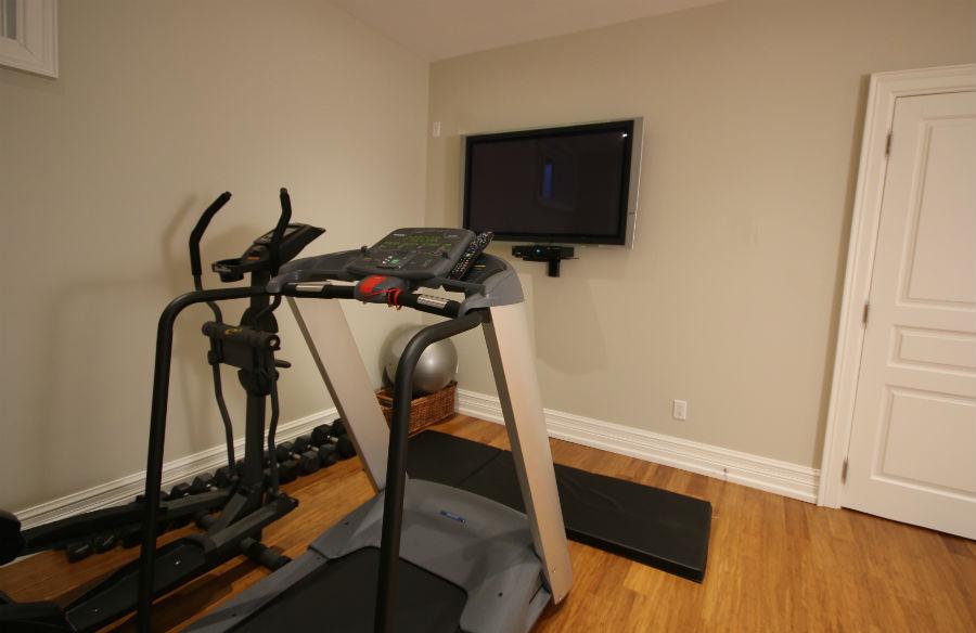 Toronto Basement Exercise Room