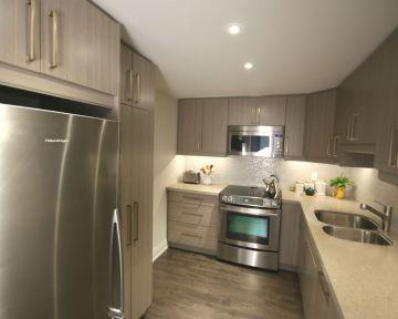 Modern Condo Kitchen