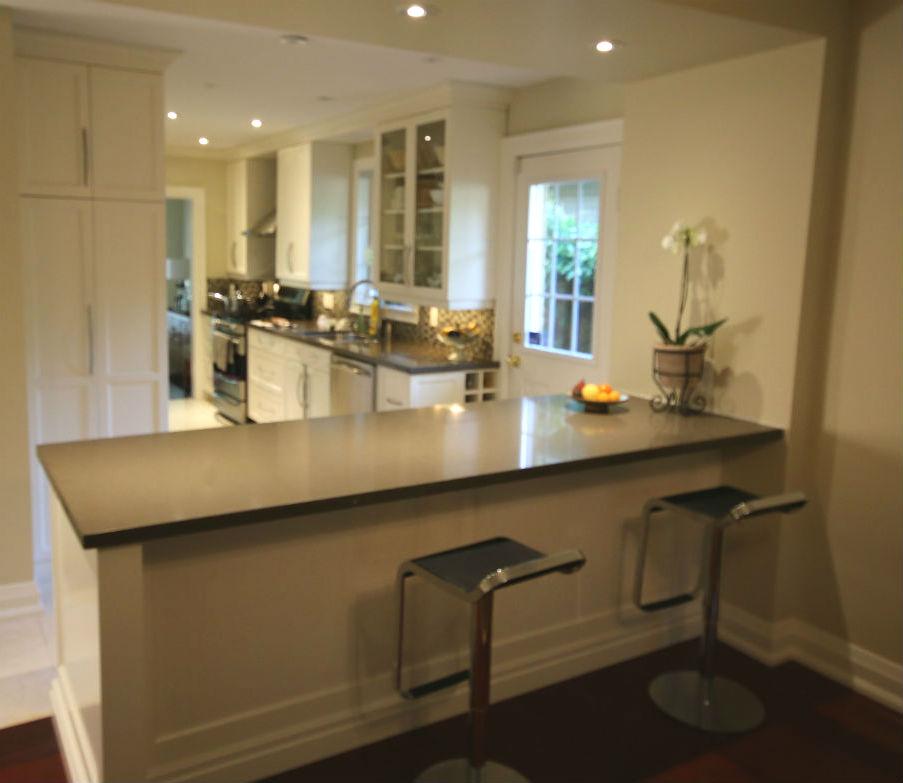 Kitchen Shelves Toronto: Etobicoke Kitchen Renovation