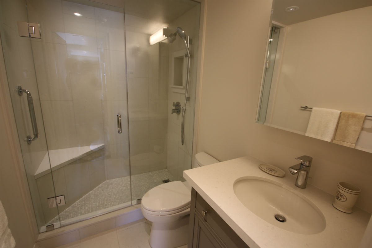Toronto Condo Master Bathroom