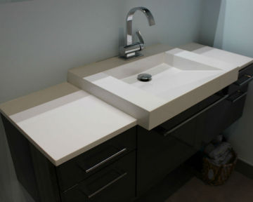 Shared Bathroom Vanity