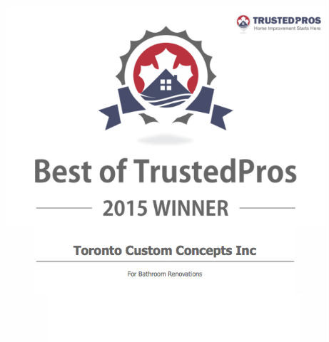 Best Of Trustedpros For 2015 Award