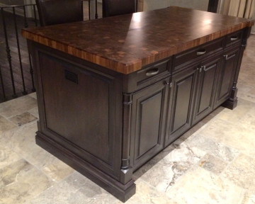 Burlington End Grain Countertop