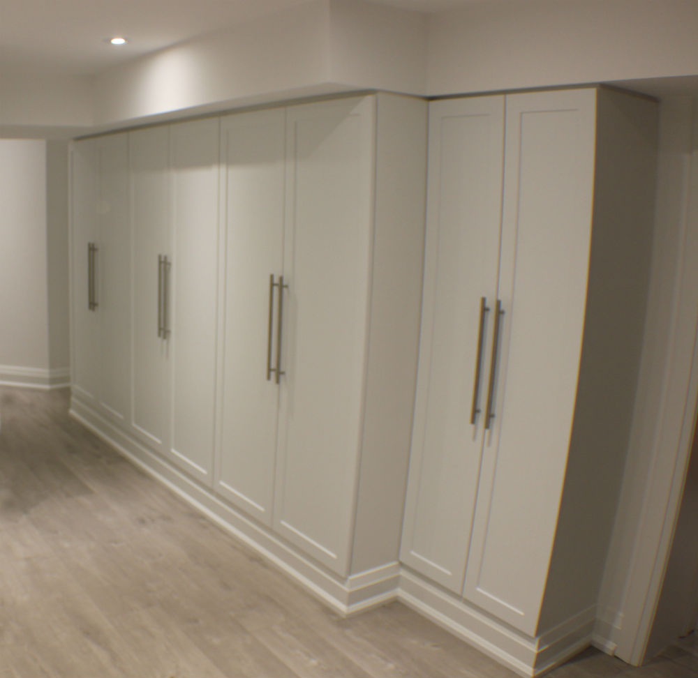 Toronto Basement Storage Toronto Custom Concepts Kitchens Bathrooms Wall Units Basements