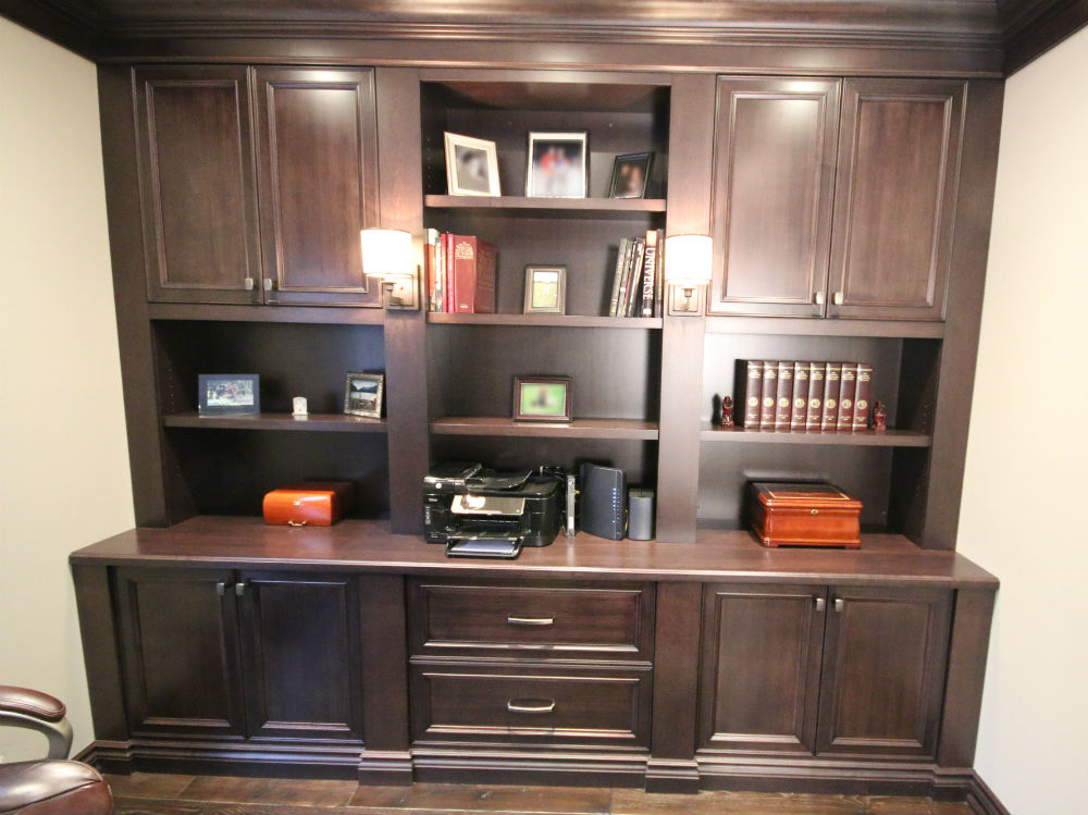 Office Builtin Wallunit Toronto Custom Concepts