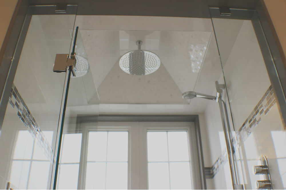 Toronto Glass Shower Bathroom Tile Renovation Remodel