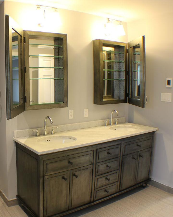 Bathroom Double Mirror